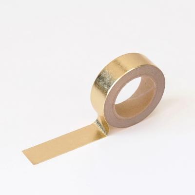 왈가닥스 포일 마스킹테이프 - 52 Light Gold