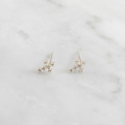 [925 실버]미니크로스 귀걸이=ER260