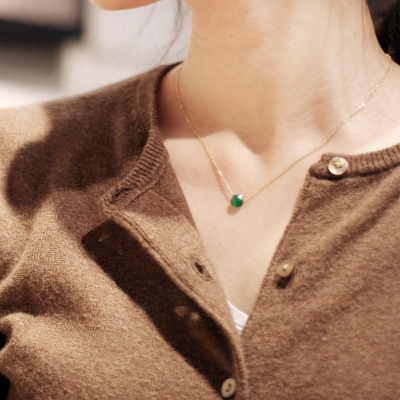 그린 오닉스, kinda green 네크리스