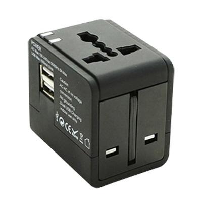 고고트래블 여행용 멀티 어댑터(USB 2포트)