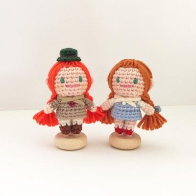 손뜨개 인형, 인테리어 데코 장식 소품 - 앤, 도로시
