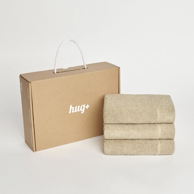 hug+ gift box _ 150g 페이스타월 3개세트