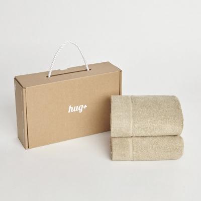 hug+ gift box _ 200g 페이스타월 2개세트