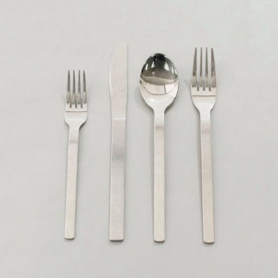 [Kichen] 4종세트 Cutlery Set_Cafe Rond Tableware