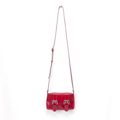 NEW DOUBLEBELTED CROSSBODY[red]