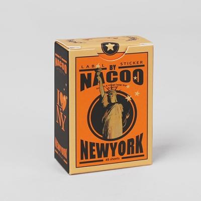 Label Sticker Pack-22 New York