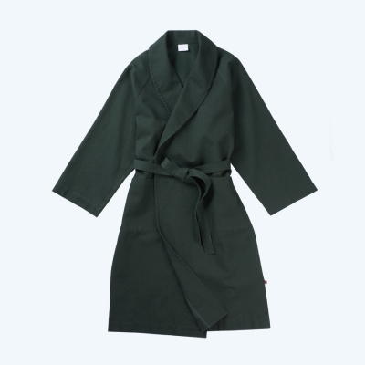 [closingment] pure cotton robe Forest Shadow