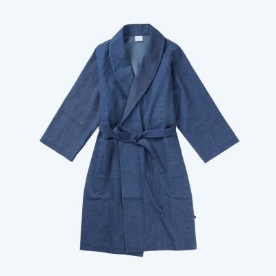 [closingment] pure cotton robe Prussian