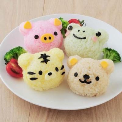 곰과 친구들 주먹밥 세트