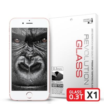 레볼루션글라스 3D 곡면리얼풀커버 강화유리 아이폰6S