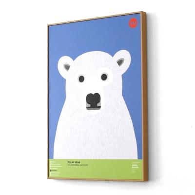 북극곰 멸종위기동물 아트프레임XL