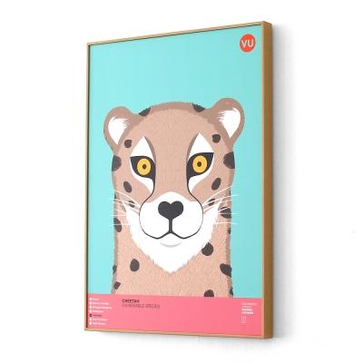 치타 멸종위기동물 아트프레임XL