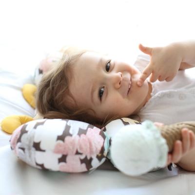 [엘비니] 트리플라이 넥필로우 아기 목베개 - 로지멜로우