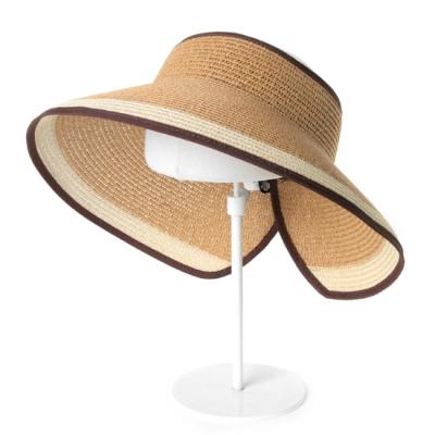 [베네]투컬러 돌돌이 모자
