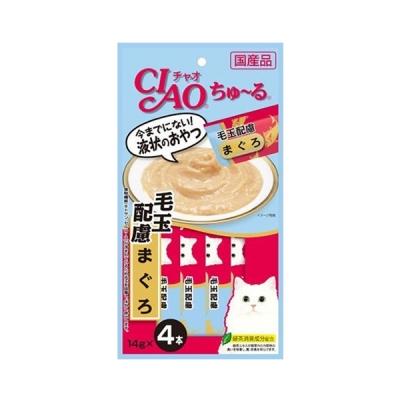 이나바 챠오 챠오 츄르 4P 헤어볼케어 참치맛 (SC-101)_(1694933)