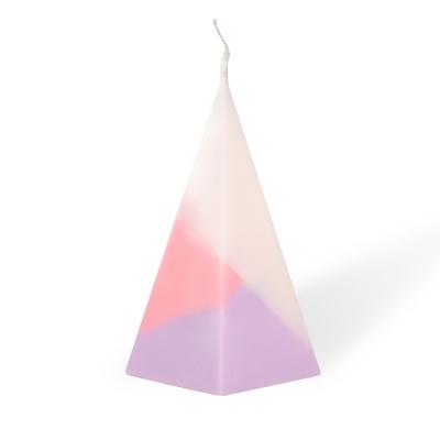 오각뿔캔들 - ivory x pink x purple