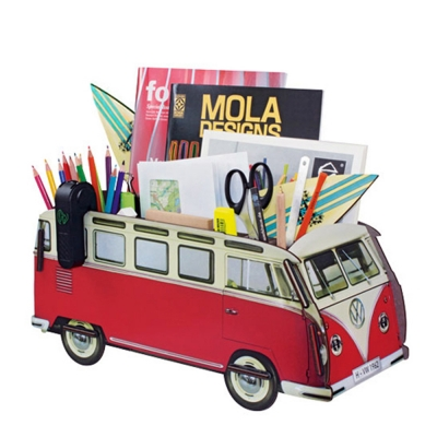Office Organizer bus-red