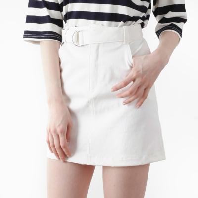 ring-belt skirt