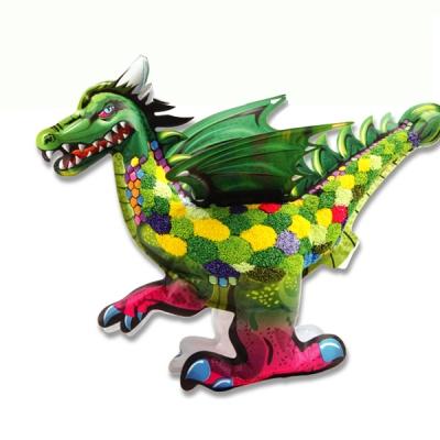 컬러룬 볼클레이 3D드레곤만들기(특대)4종택1/어린이선물