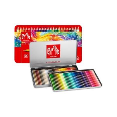 까렌다쉬 수프라 컬러 수성색연필 80색/전문가용