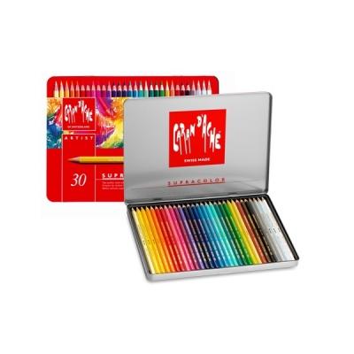 까렌다쉬 수프라 컬러 수성색연필 30색/전문용(3888.330)