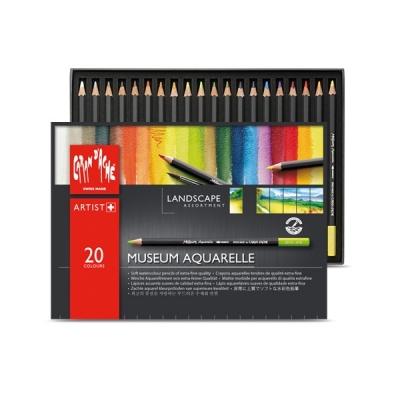 까렌다쉬 뮤지엄수성 색연필 20색/LANDSCAPE(3510.420)