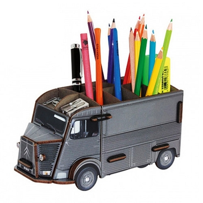 Pencil box-Citroen grey