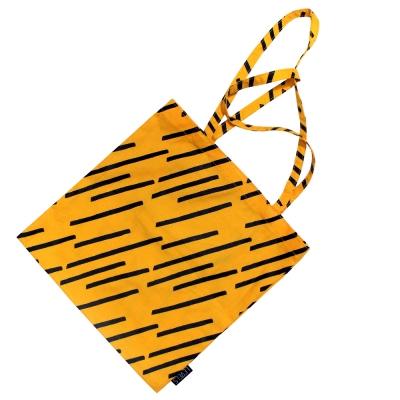 [레벨스] Diagonal rain 에코백 (yellow)