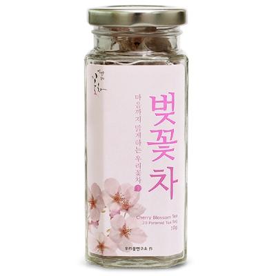 [우리꽃연구소] 벚꽃차 (0.5gx20삼각티백) /꽃차/티백
