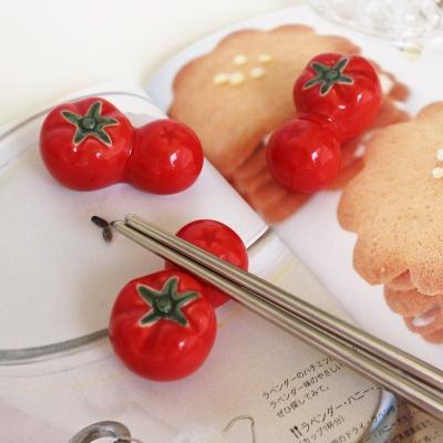 토마토 수저받침4P 세트