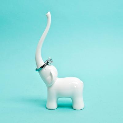 코끼리 반지홀더 장식