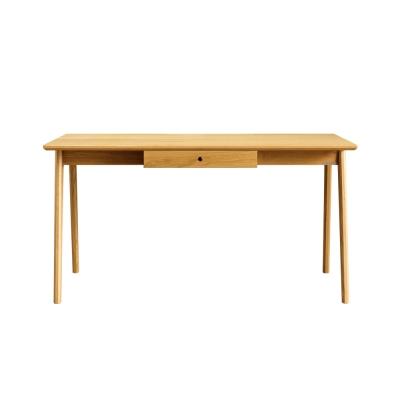 All oak table