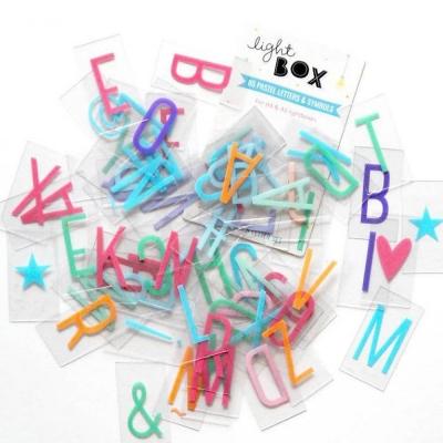 Lightbox letter set(글씨체)