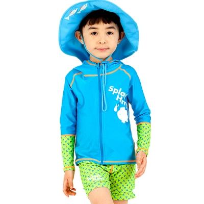 [래쉬가드/후드집업] Splash Harry__Hood Zip up_Blue(상하세트)