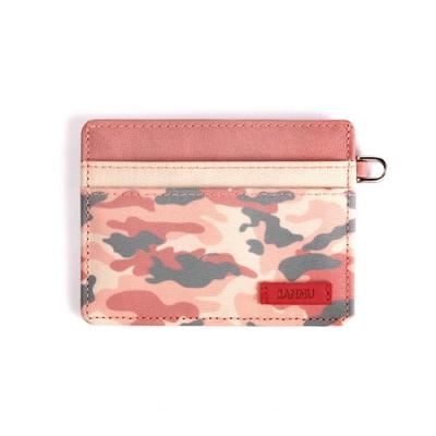 [자누] 카모 카드지갑 - 핑크