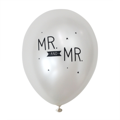 balloon-Mr. And Mr.(6pcs)