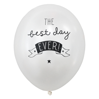 balloon-Best day ever(6pcs)