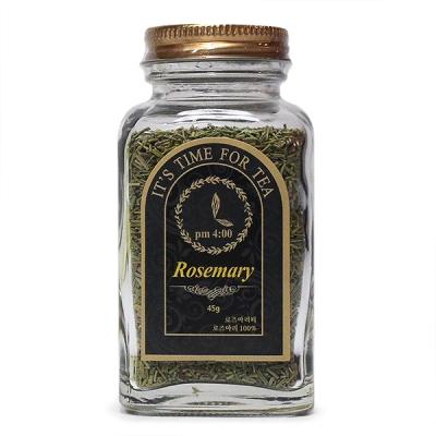 [허브라] 로즈마리 45g 허브차 (은은하고 시원한 향)