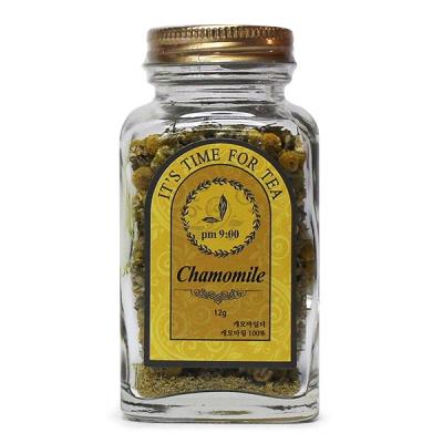 [허브라] 캐모마일 12g 허브차 꽃차 (사과향처럼 상큼한 향)
