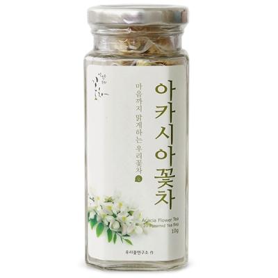 [우리꽃연구소] 아카시아꽃차 (0.5gx20삼각티백) /꽃차/티백