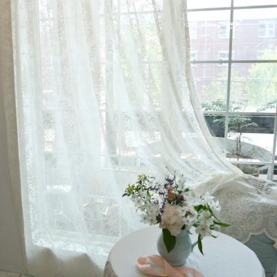 bouquet_레이스 커튼