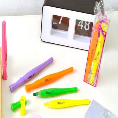 모리스 스타플라워 4색세트 별모양 형광펜