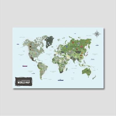 세계지도 아트프레임 에디션 no. 0003
