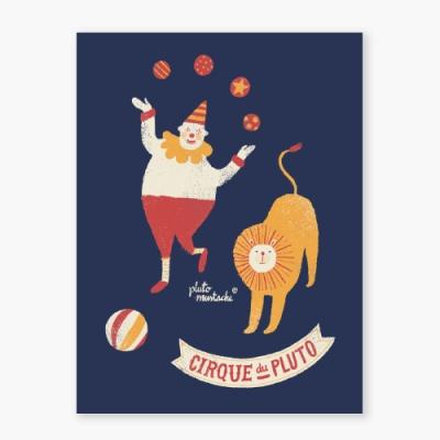 Cirque Du Pluto Art poster