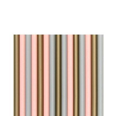 삼색 일자 스트로우 1봉-350개입(7mmX21cm)