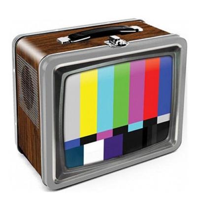 컬러 TV 틴박스