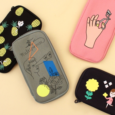 FABRIC PENCIL POUCH 4종