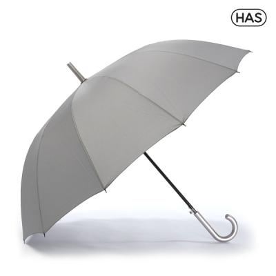 [HAS] 자동 솔리드 장우산 12살대 H1260(GRAY)_더스티그_(801660114)