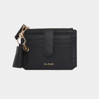 [미니태슬증정]Dijon 301S Flap mini Card Wallet black