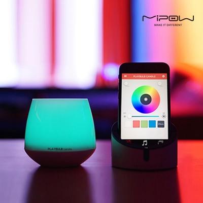 스마트폰으로 조절이 가능한 LED 캔들 무드등 PLAYBULB candle